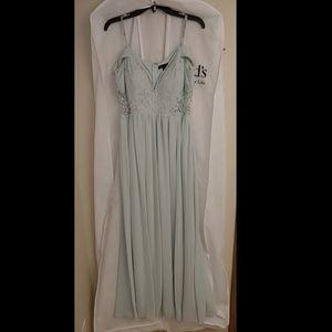 Off the shoulder pastel Jodie Kristopher dress